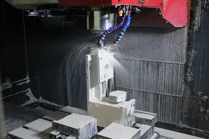CNC machining on the third side