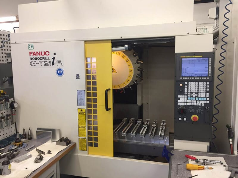 FANUC 3 AXIS CNC MACHINE