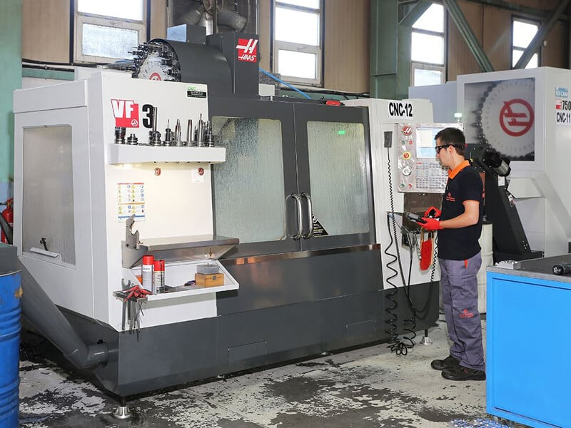 HAAS 3 AXIS CNC MACHINE