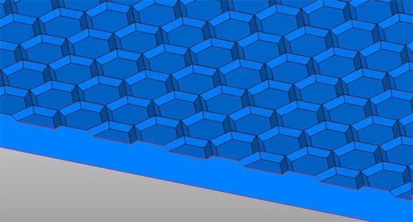 hexagonal-ridge