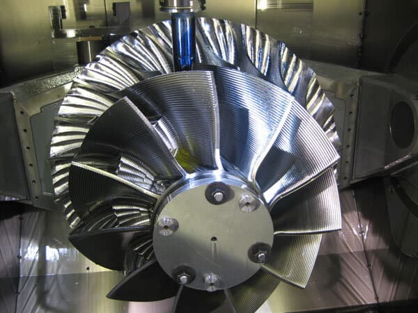 CNC-machining-for-Multi-blade-impeller
