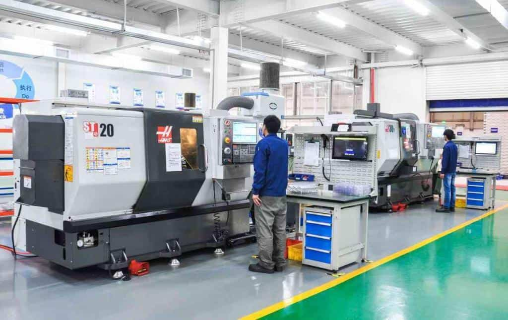 HAAS CNC Turning Machine(1)